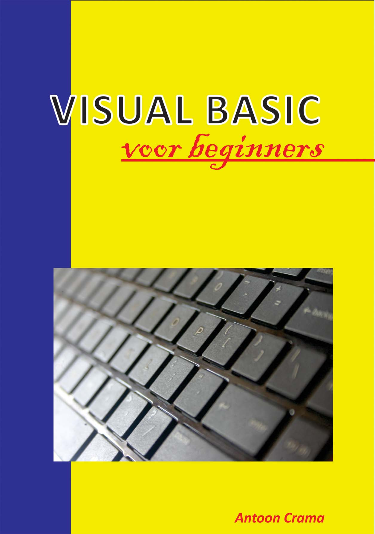 omslag boek Visual Basic voor Beginners